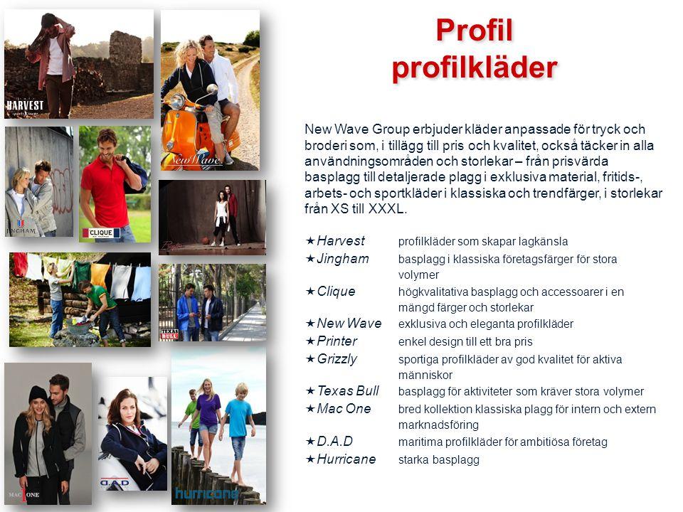 Profil profilkläder.