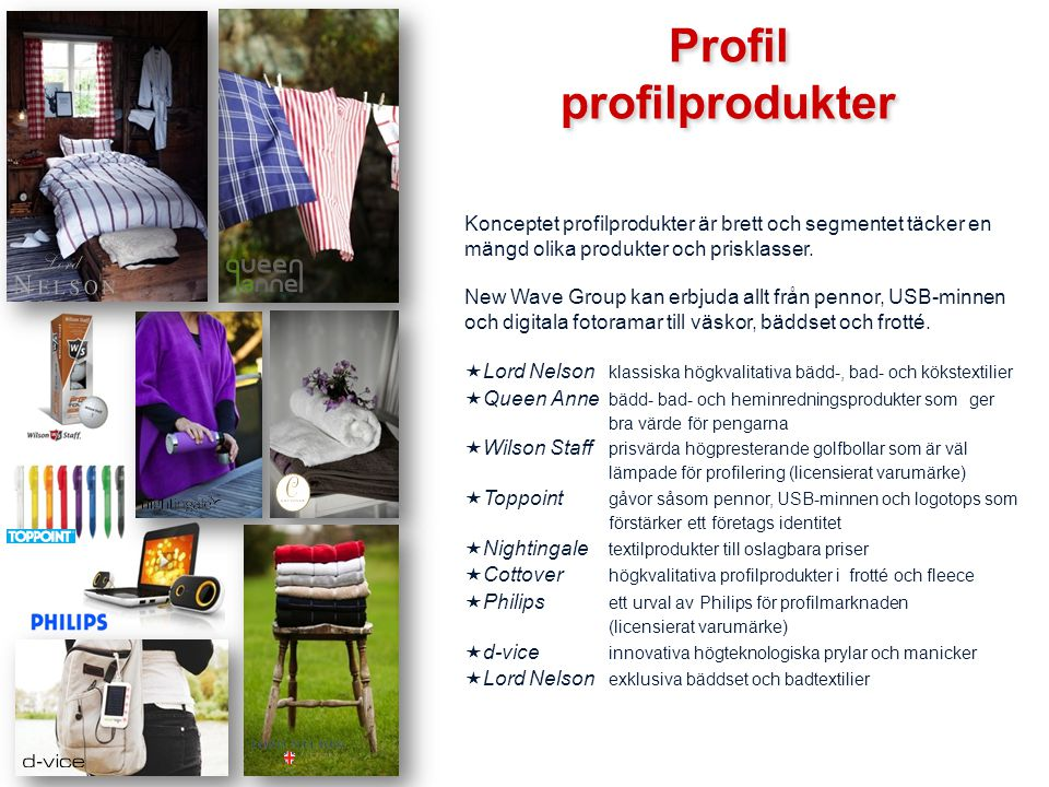 Profil profilprodukter