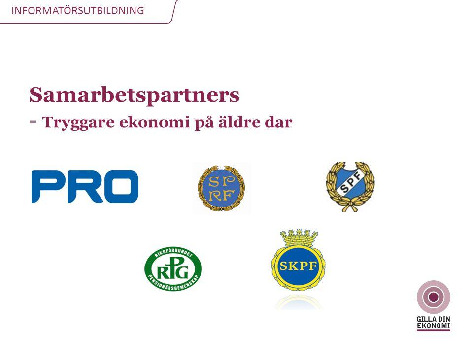 Samarbetspartners - Tryggare ekonomi på äldre dar