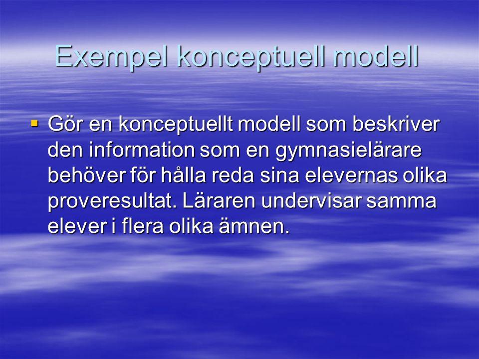 Exempel konceptuell modell