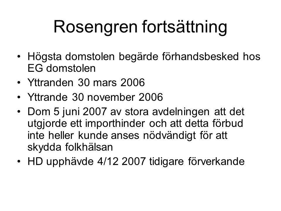 Rosengren fortsättning