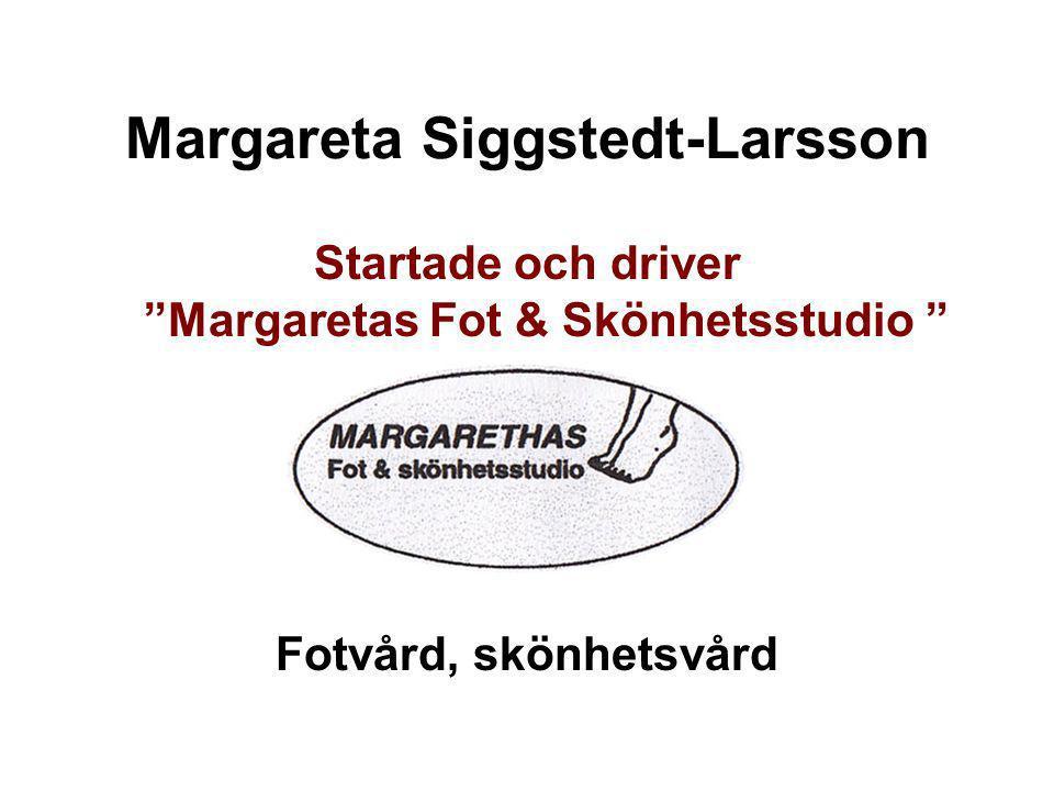 Margareta Siggstedt-Larsson
