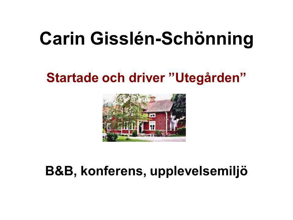 Carin Gisslén-Schönning