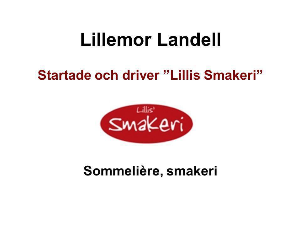 Startade och driver Lillis Smakeri