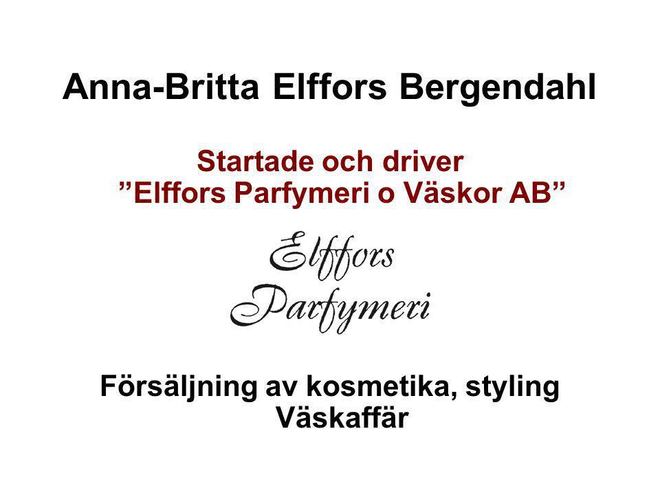 Anna-Britta Elffors Bergendahl