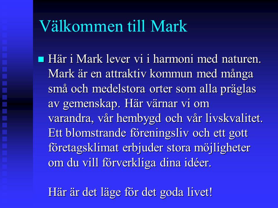 Välkommen till Mark