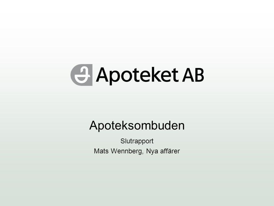 Slutrapport Mats Wennberg, Nya affärer