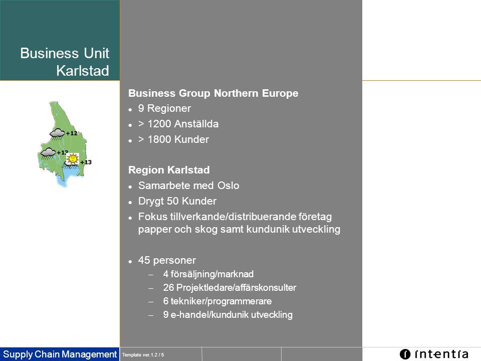 Business Unit Karlstad