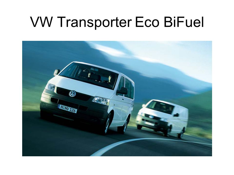 VW Transporter Eco BiFuel