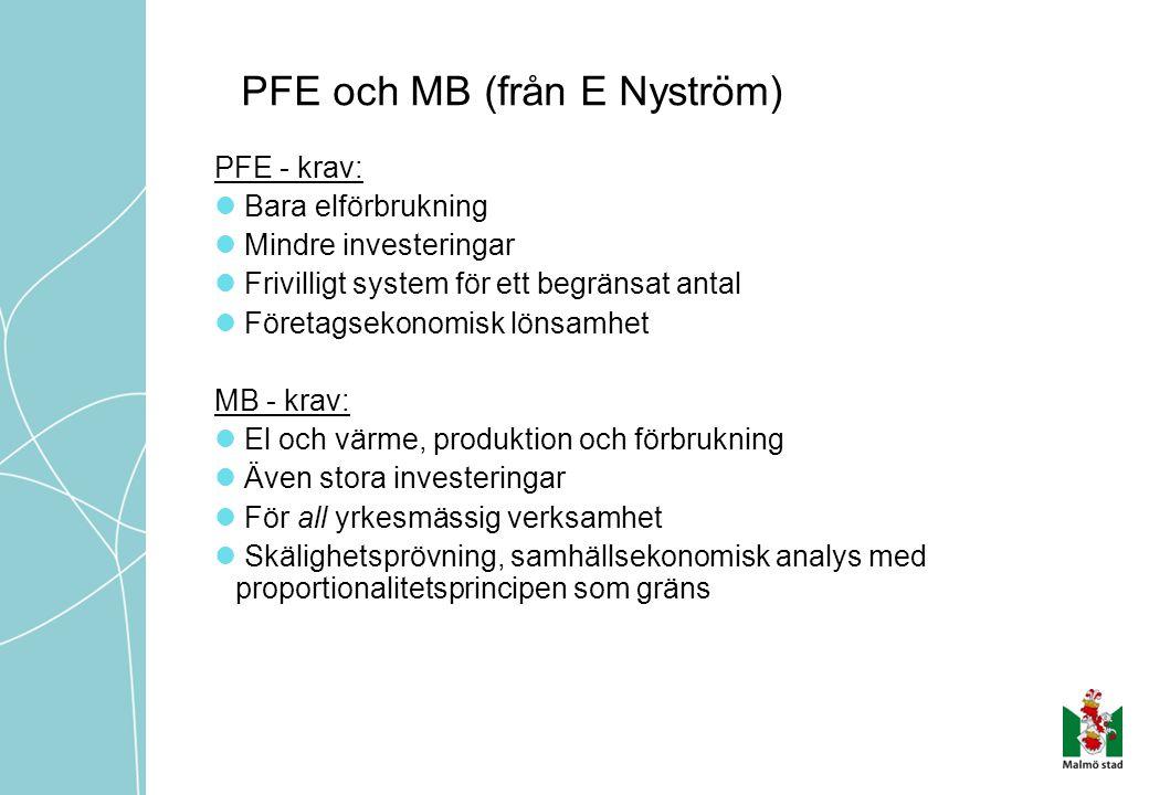 PFE och MB (från E Nyström)