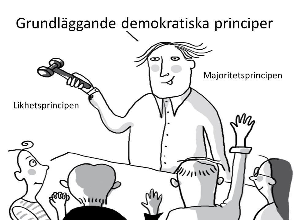 Grundläggande demokratiska principer