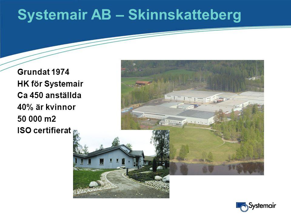 Systemair AB – Skinnskatteberg