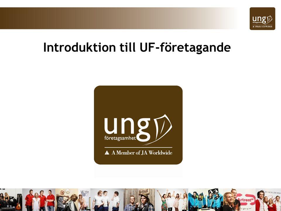 Introduktion till UF-företagande