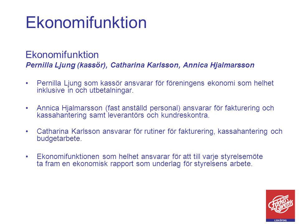 Ekonomifunktion Ekonomifunktion