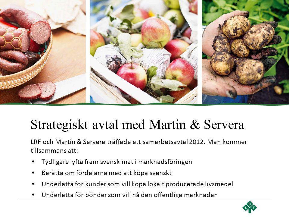Strategiskt avtal med Martin & Servera
