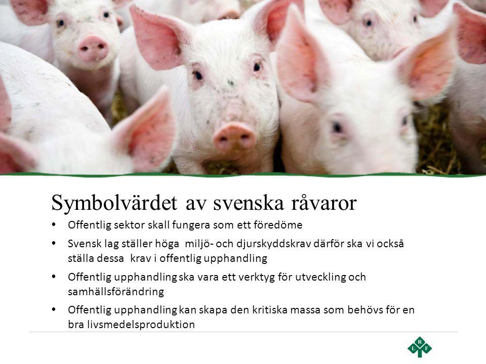 Symbolvärdet av svenska råvaror