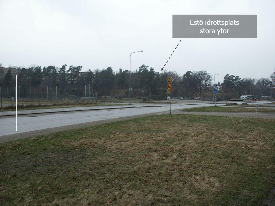Estö idrottsplats stora ytor Simhall 2