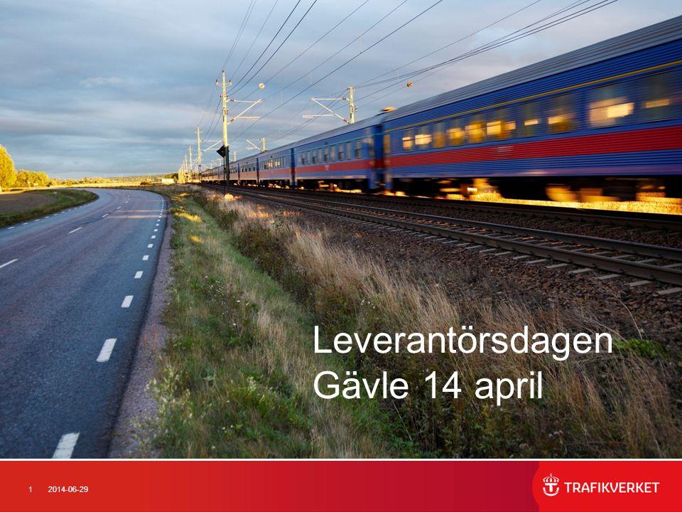 Leverantörsdagen Gävle 14 april