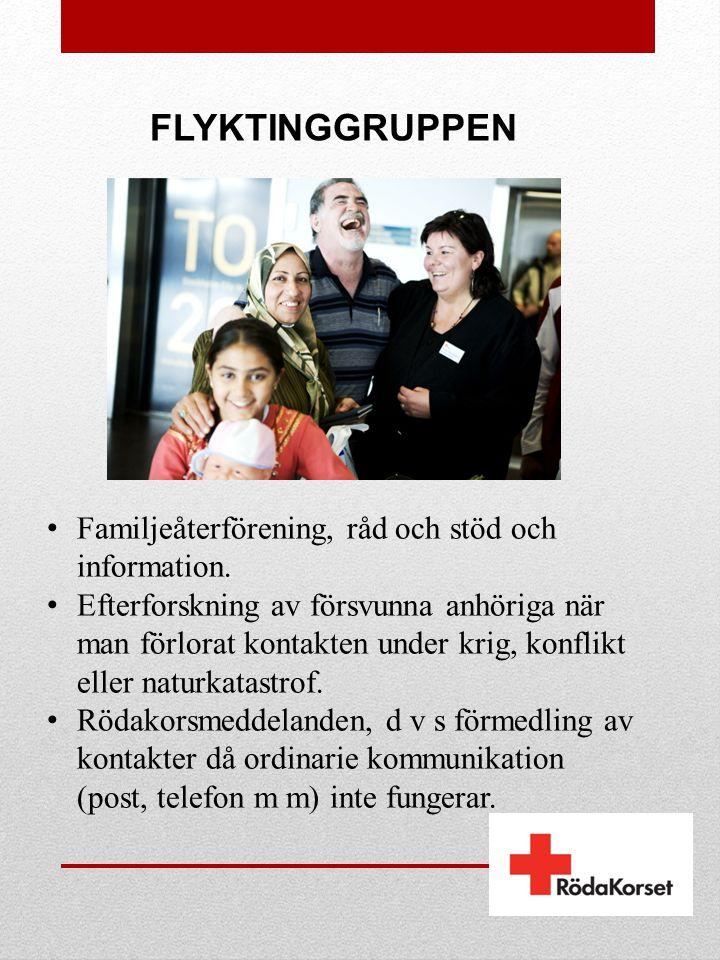 FLYKTINGGRUPPEN Familjeåterförening, råd och stöd och information.