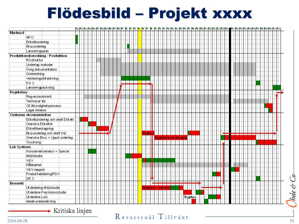 Flödesbild – Projekt xxxx