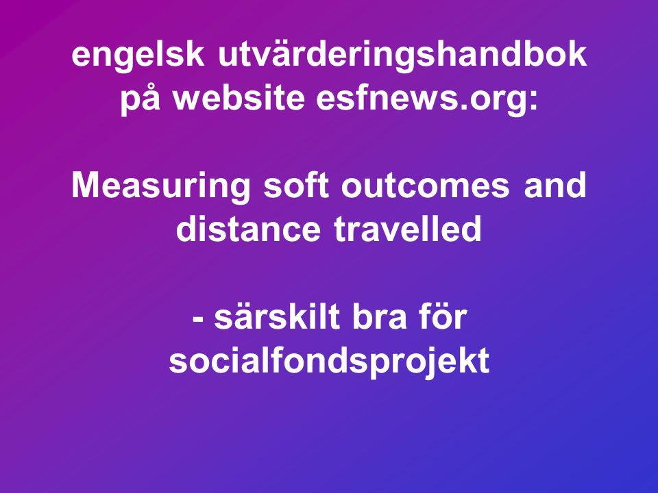 engelsk utvärderingshandbok på website esfnews
