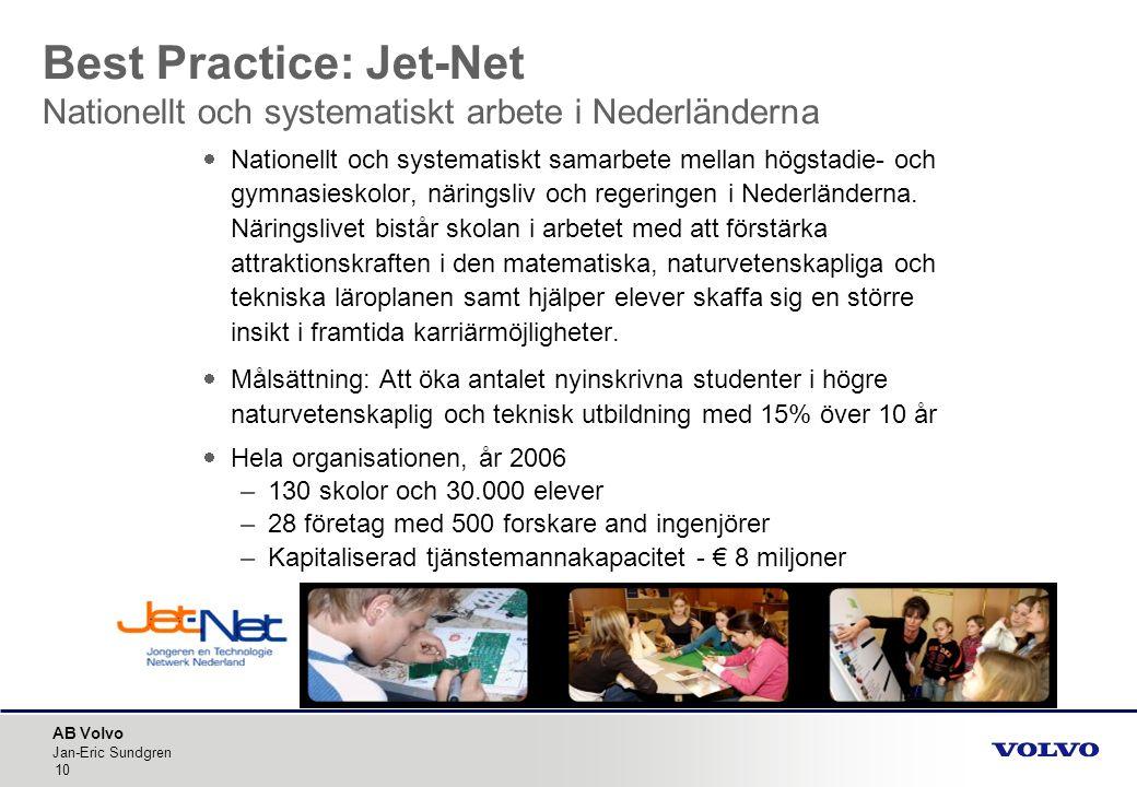 Best Practice: Jet-Net Nationellt och systematiskt arbete i Nederländerna