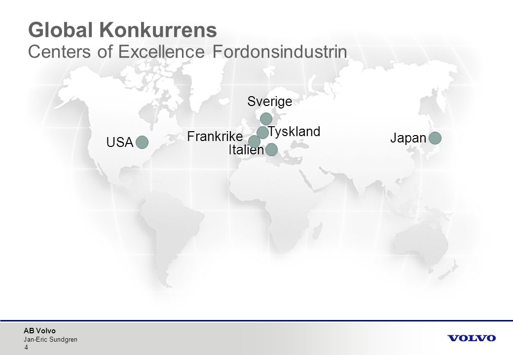 Global Konkurrens Centers of Excellence Fordonsindustrin