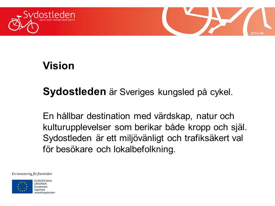 Sydostleden är Sveriges kungsled på cykel.