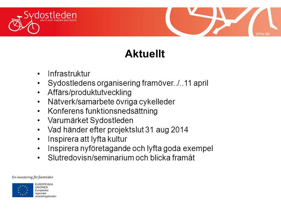 Aktuellt Infrastruktur Sydostledens organisering framöver../..11 april