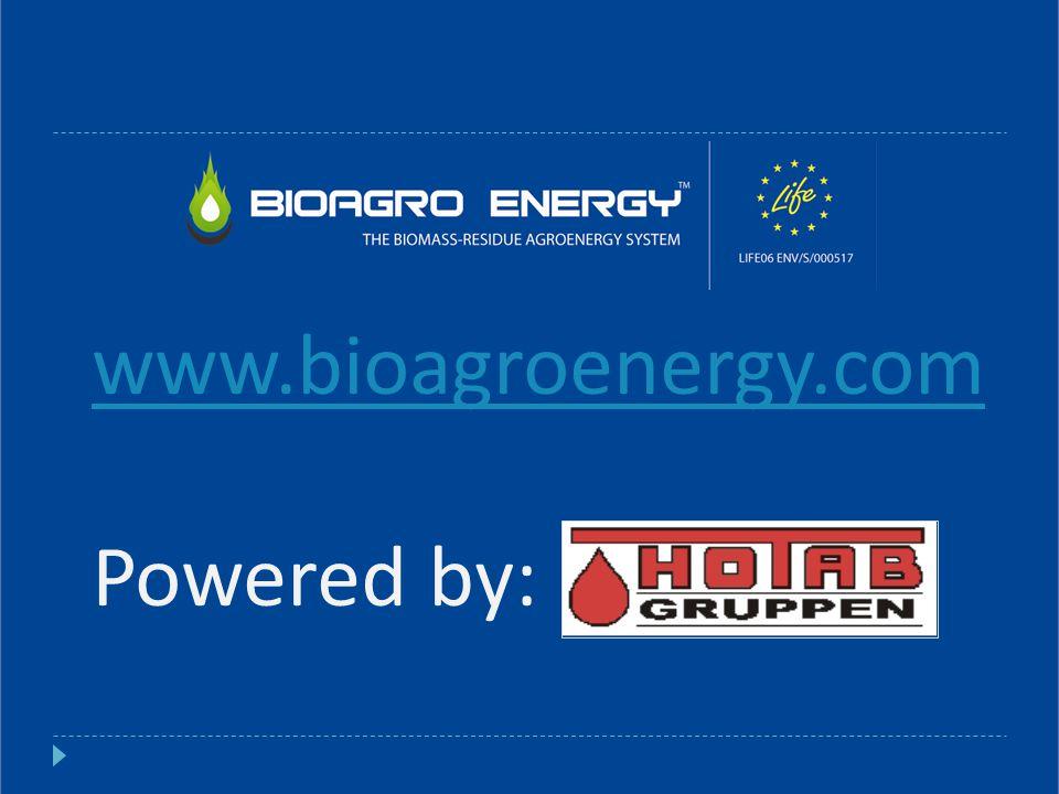 www.bioagroenergy.com Powered by: