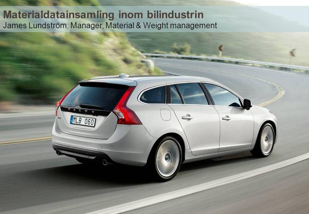 Materialdatainsamling inom bilindustrin