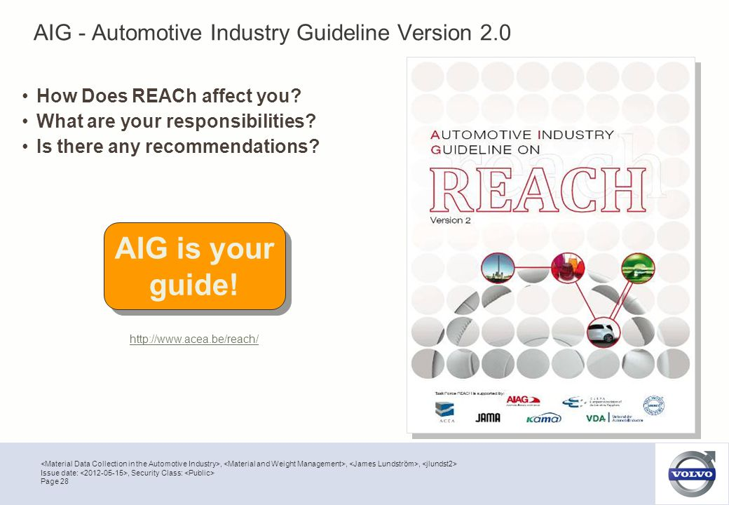 AIG - Automotive Industry Guideline Version 2.0
