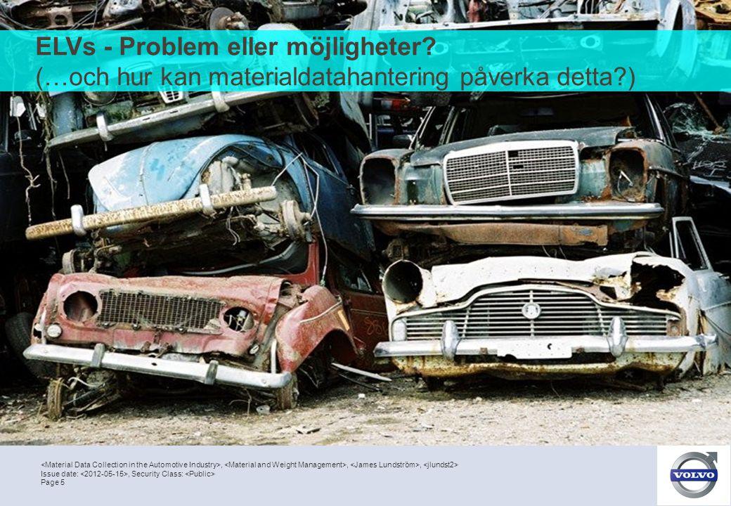 ELVs - Problem eller möjligheter