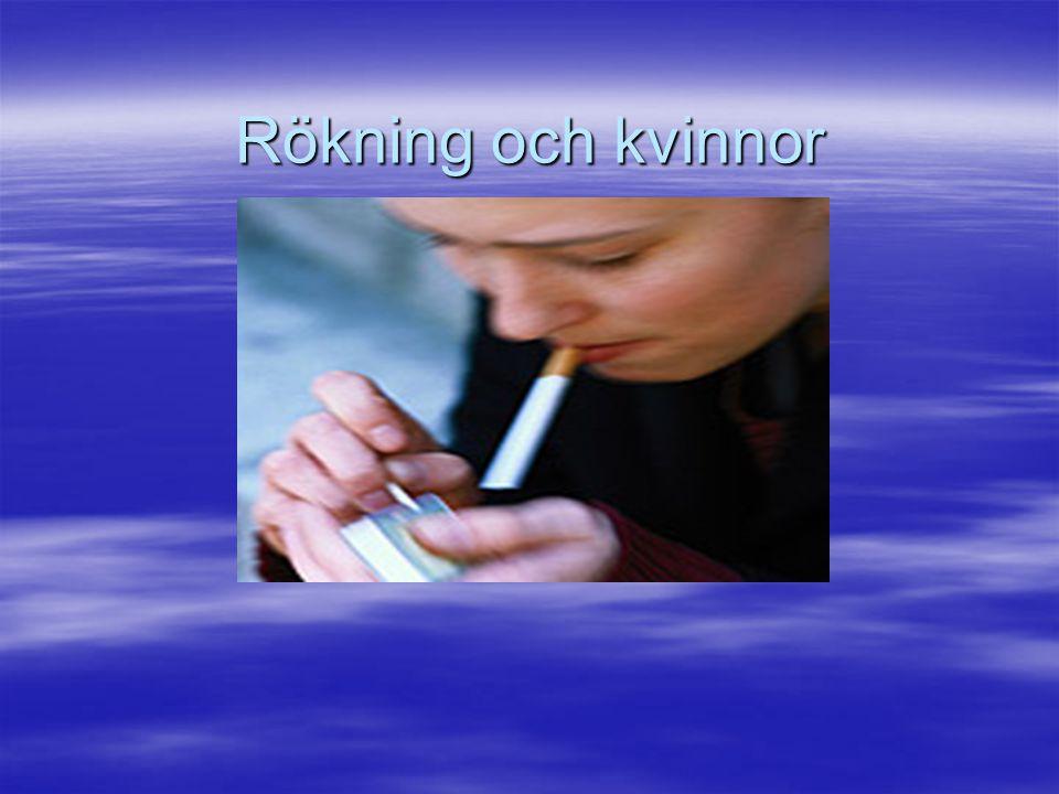 Rökning och kvinnor