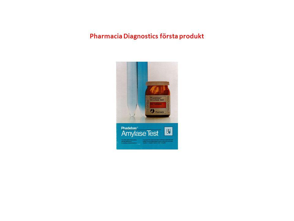 Pharmacia Diagnostics första produkt