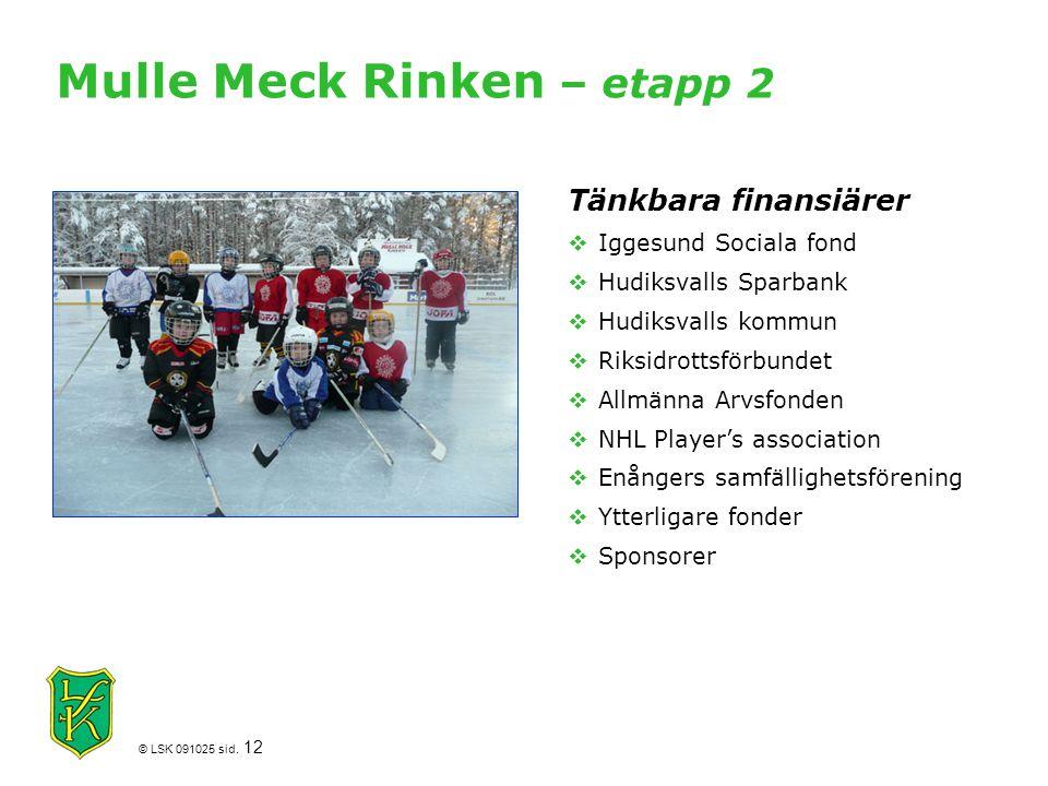 Mulle Meck Rinken – etapp 2