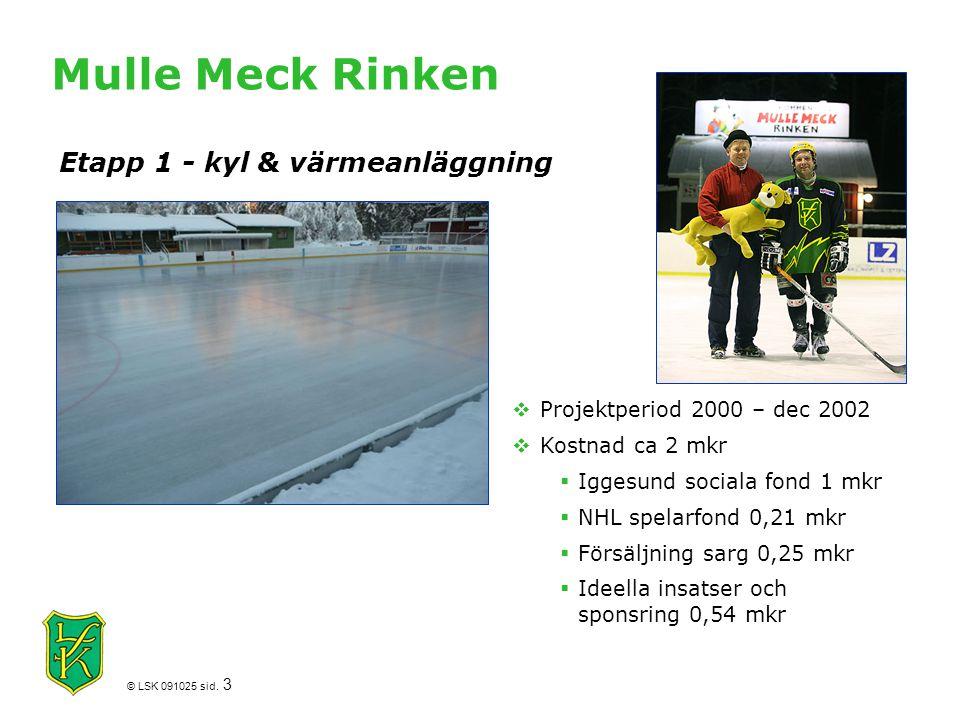 Mulle Meck Rinken Etapp 1 - kyl & värmeanläggning