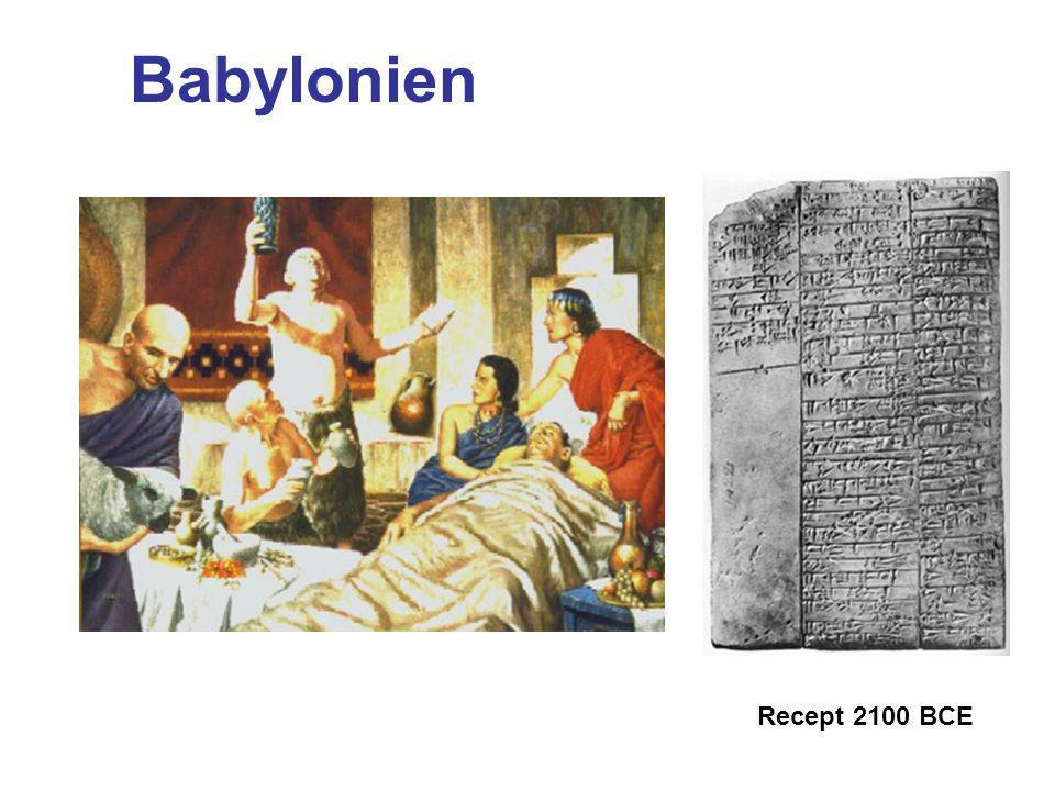 Babylonien Recept 2100 BCE