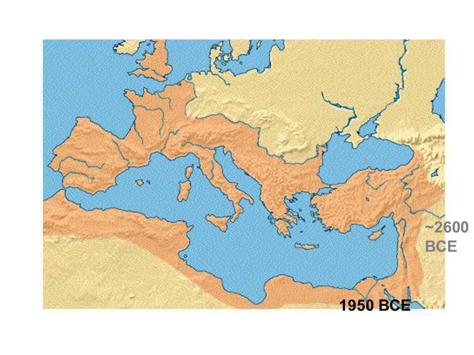 ~2600 BCE 1950 BCE