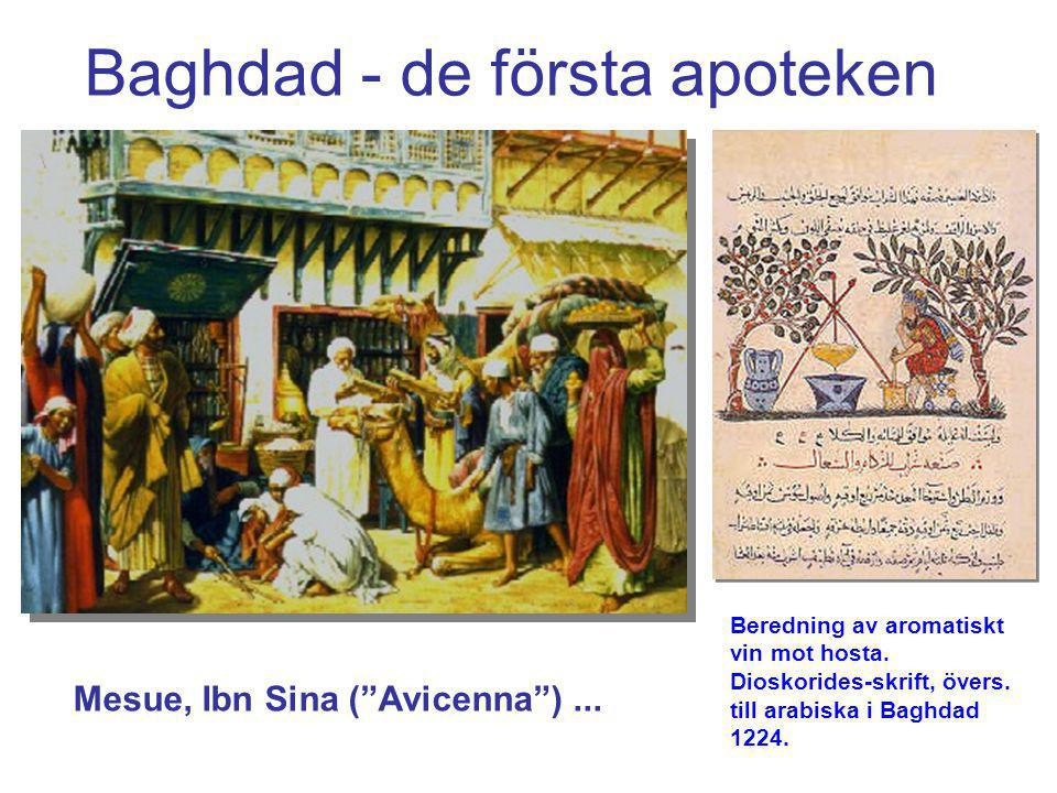 Baghdad - de första apoteken