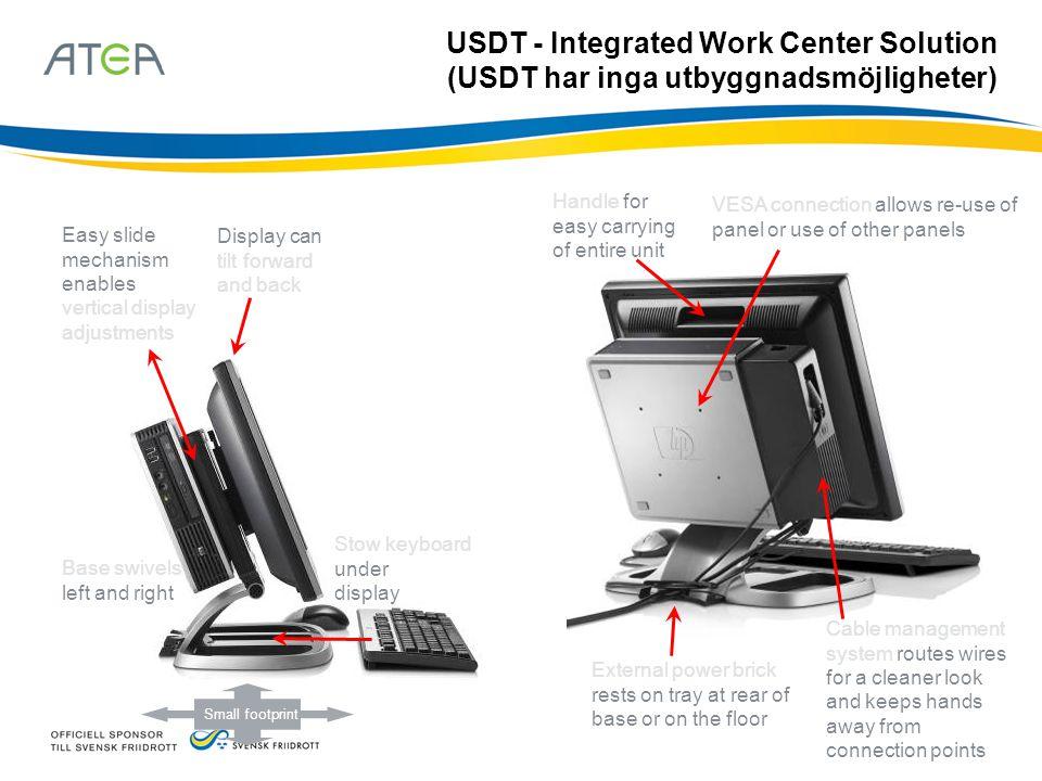 USDT - Integrated Work Center Solution (USDT har inga utbyggnadsmöjligheter)