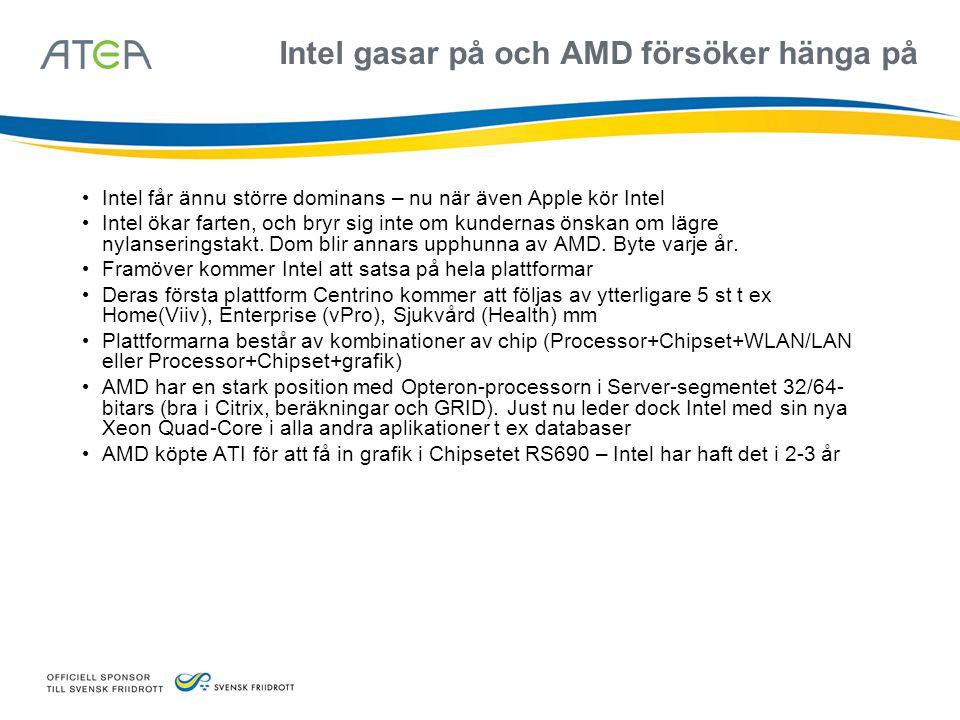Intel gasar på och AMD försöker hänga på