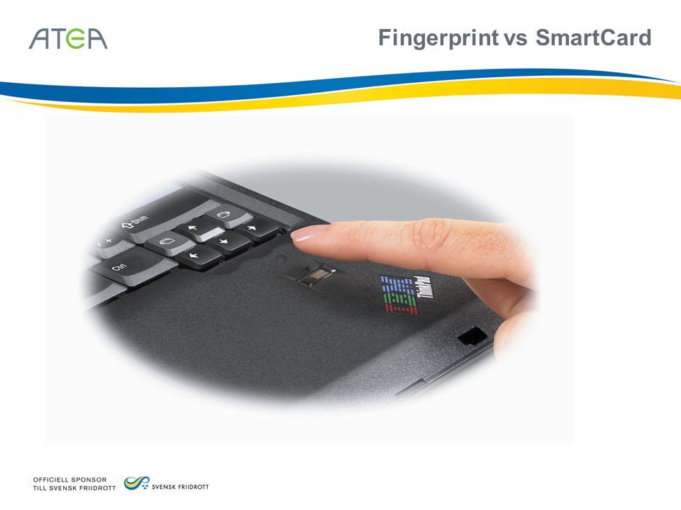 Fingerprint vs SmartCard