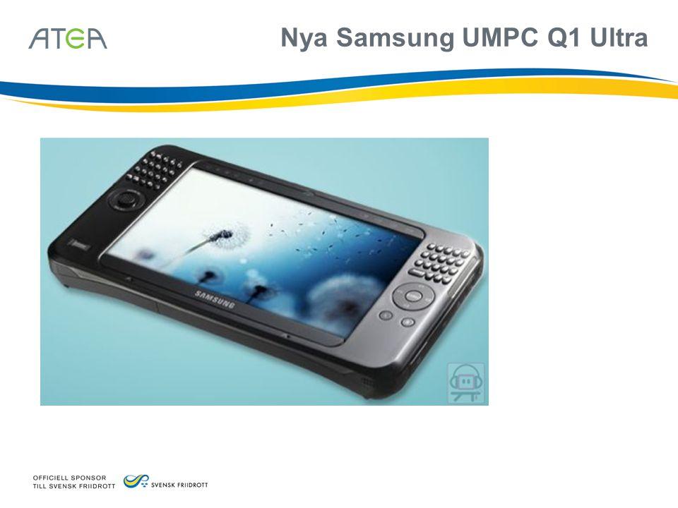 Nya Samsung UMPC Q1 Ultra