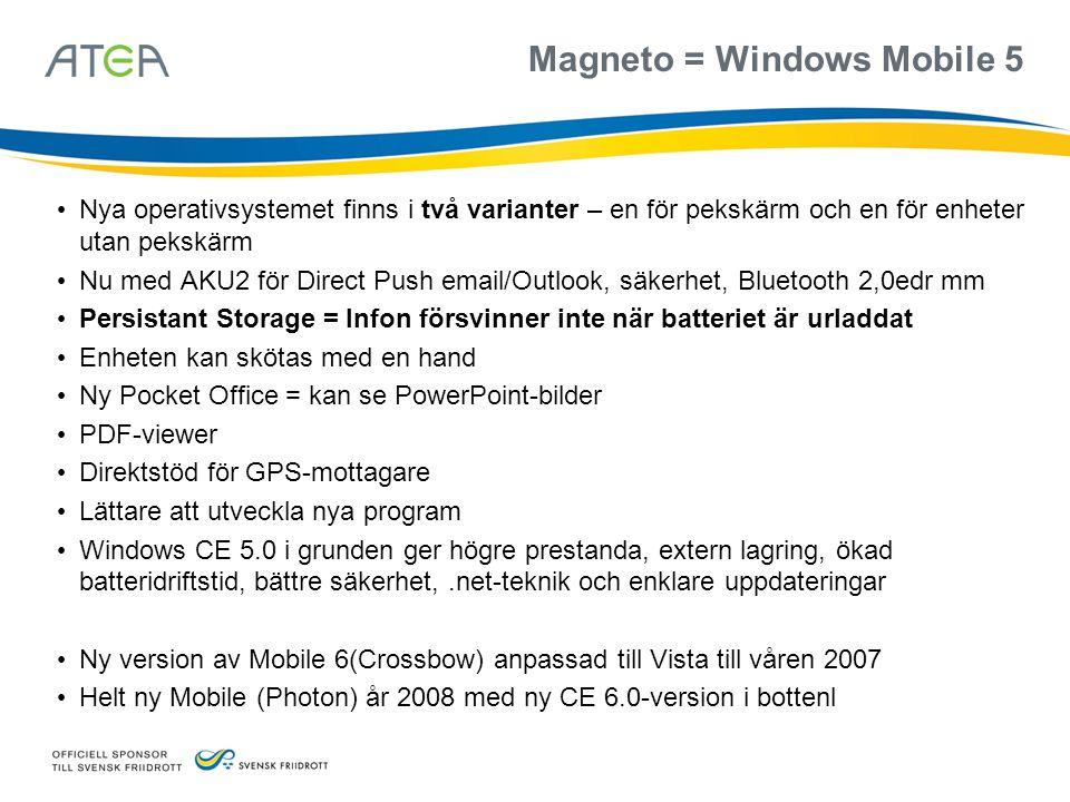 Magneto = Windows Mobile 5
