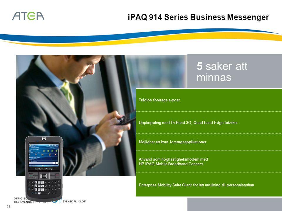 iPAQ 914 Series Business Messenger