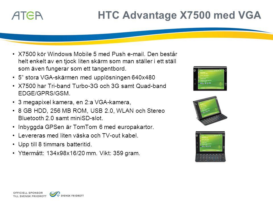 HTC Advantage X7500 med VGA