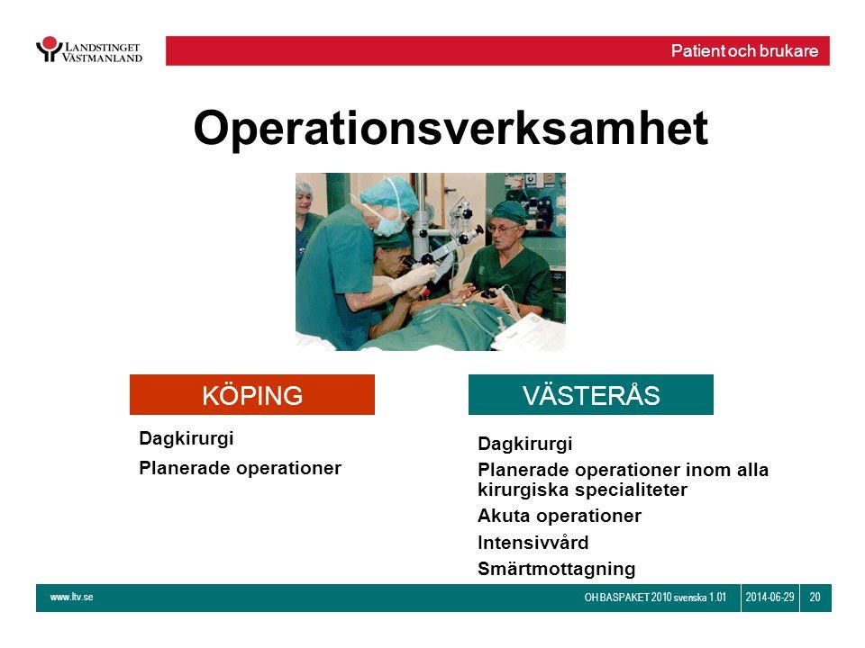 Operationsverksamhet