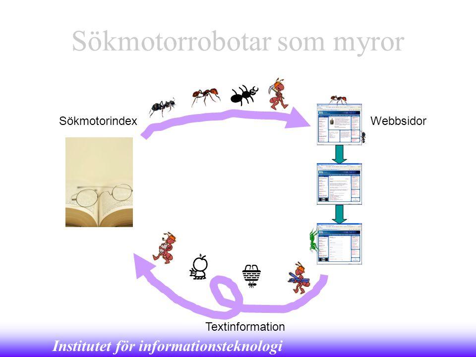 Sökmotorrobotar som myror