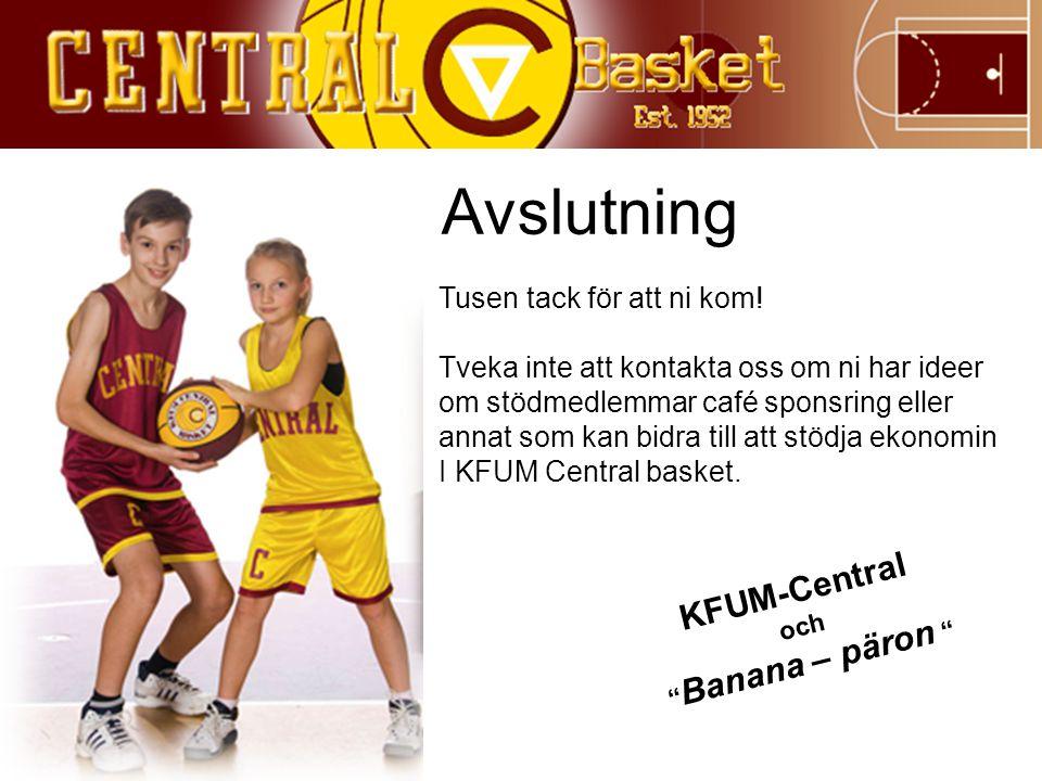 Avslutning KFUM-Central Tusen tack för att ni kom!